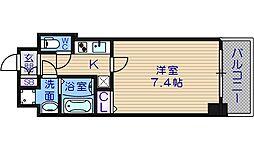 S-RESIDENCE緑橋駅前[13階]の間取り