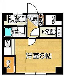 宮城県仙台市太白区向山4丁目の賃貸マンションの間取り