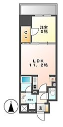 ダイワシティー大須[5階]の間取り