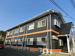 福岡県飯塚市有安の賃貸アパートの外観