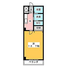 クールドノール[5階]の間取り
