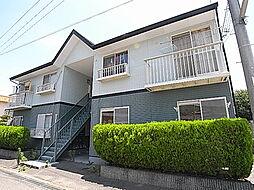 兵庫県姫路市四郷町山脇の賃貸アパートの外観