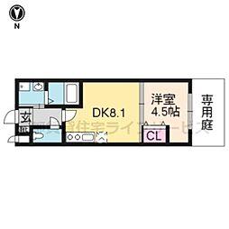 Residence二条洛中庵[103号室]の間取り