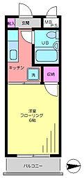 東京都江戸川区南葛西4の賃貸マンションの間取り