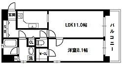 リーガル新大阪駅前[8階]の間取り