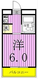 ランドフォレスト松戸[103号室]の間取り