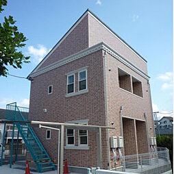神奈川県横浜市磯子区栗木1の賃貸アパートの外観