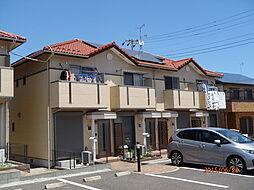 茨城県水戸市東前町の賃貸アパートの外観