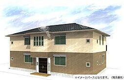 神奈川県平塚市田村2丁目の賃貸アパートの外観