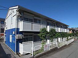 千葉県船橋市馬込町の賃貸アパートの外観