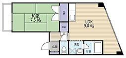 勝山町駅 3.4万円