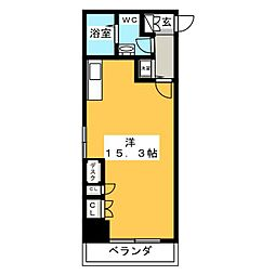 アル・ドゥ6[6階]の間取り