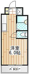 コスモス町田[B202号室]の間取り