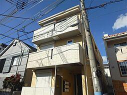 兵庫県神戸市中央区旗塚通3丁目の賃貸アパートの外観