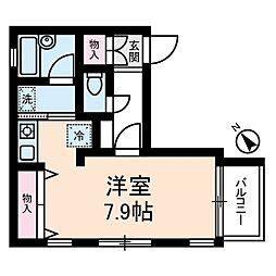 くるみハウス[1階]の間取り