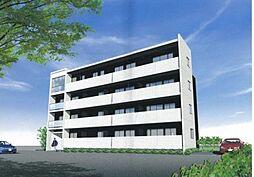 東京都新宿区新小川町の賃貸マンションの外観