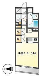 CORNES HOUSE NAGOYA[7階]の間取り