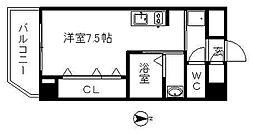 パレット駅西 (パレットエキニシ)[6階]の間取り