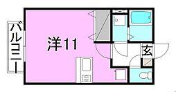 メゾン21[105 号室号室]の間取り