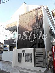 東京都葛飾区柴又1の賃貸アパートの外観