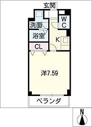 Blue Square[3階]の間取り