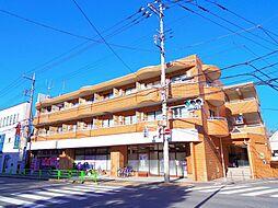 東京都東久留米市学園町2丁目の賃貸マンションの外観