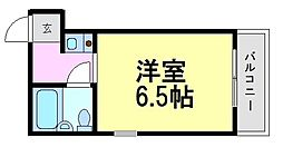 プリエールJR尼崎駅前[11階]の間取り