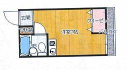 兵庫県神戸市垂水区小束山本町2丁目の賃貸アパートの間取り