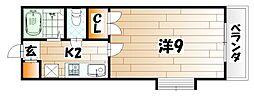 セントラルパーク浅生[7階]の間取り
