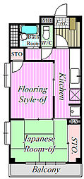 新海マンション[3階]の間取り
