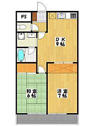山本ビル[2階]の間取り