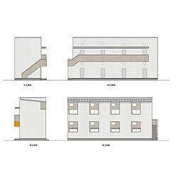 シンフォニア城北[1階]の外観