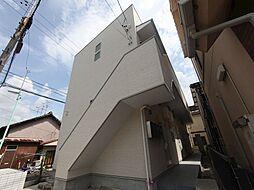 愛知県名古屋市中村区新富町2丁目の賃貸アパートの外観