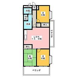 ソノワール本郷[2階]の間取り