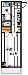 埼玉県さいたま市南区曲本5丁目の賃貸マンションの間取り