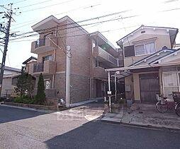 京都府京田辺市興戸若宮の賃貸マンションの外観