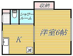 第1吉田マンション[4階]の間取り