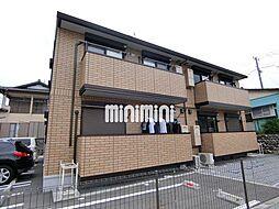 静岡県富士市久沢2丁目の賃貸アパートの外観