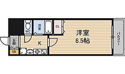 エスリード福島駅前[7階]の間取り