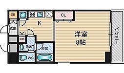 ドルーム新大阪[7階]の間取り