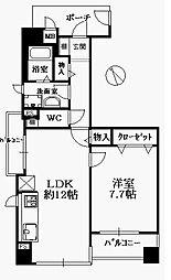 サーパス大博通り[2階]の間取り