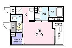 セルフィール[1階]の間取り