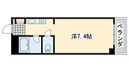 ロンネスト WAVE HOUSE[408号室]の間取り