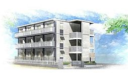 桜区栄和3階建アパート[1階]の外観
