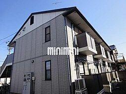 愛知県北名古屋市野崎山神の賃貸アパートの外観