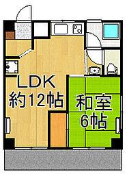 加藤第2ビル[1階]の間取り