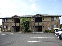 愛媛県松山市西石井3丁目の賃貸アパートの外観