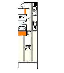 サンロイヤル五条[7階]の間取り