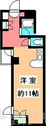 毘沙門坂ビル[303号室]の間取り