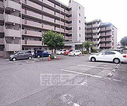 京都府宇治市五ヶ庄折坂の賃貸マンションの外観
